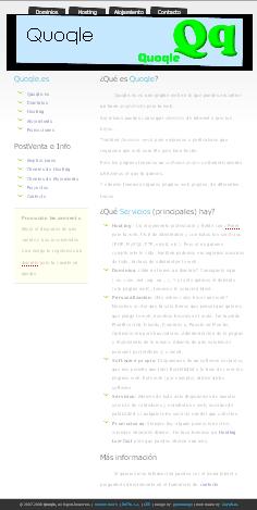 Quoqle.es versión 1.0