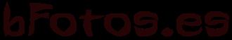 Primer logotipo de bFotos.es